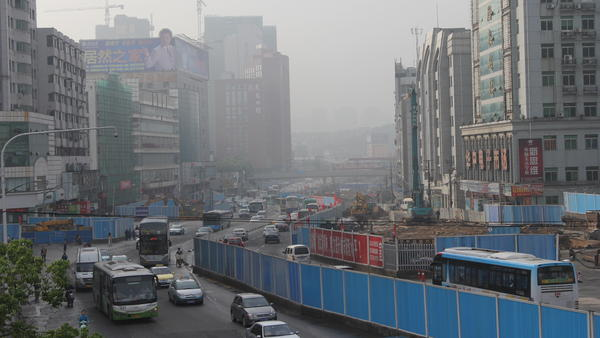 The central Chinese city of Wuhan has a population of 10 million people, more than than New York City. Wuhan's economy is growing at a rapid clip, and the local government is building three subway lines in order to help ease traffic congestion and commute times.