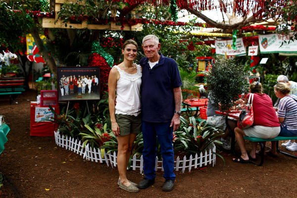 Parkesdale Farm Market is run by Jim Meeks, 70, and his extended family, including his daughter-in-law Xiamara Meeks, 36. Business is booming and the stand has been a mainstay on presidential campaign stops since the days of George H.W. Bush.
