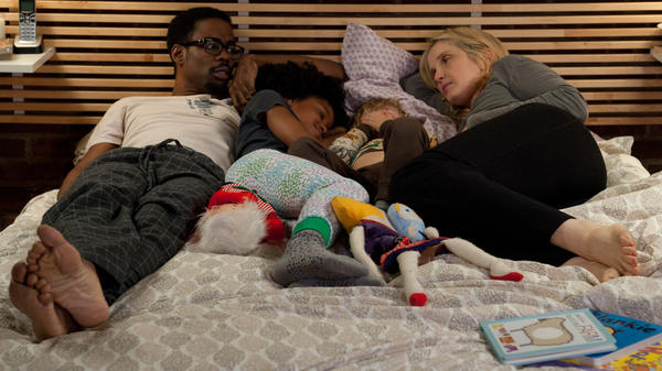 Mingus (Chris Rock) and Marion (Julie Delpy) live together with their respective kids. Their differences begin to come out, though, when Marion's family visits in <em>2 Days in New York.</em>