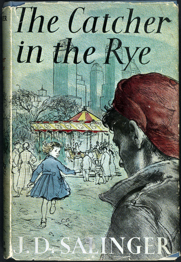 """This 1951 copy of J.D. Salinger's <em>The Catcher in the Rye </em>is one of 88 books on display as part of the Library of Congress' """"<a href=""""http://myloc.gov/exhibitions/books-that-shaped-america/pages/default.aspx"""">Books That Shaped America</a>"""" exhibit<em>. <em></em></em><em></em>"""