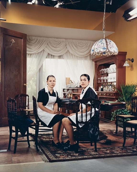 Azucena Preciado Hernandez and Claudia Janet Prado Terrazas in <em>Amarte es mi Pecado</em> (<em>Loving You Is My Sin</em>), 2003.