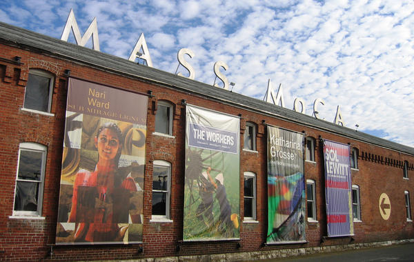 In a valley at the foot of the Berkshire Mountains, a struggling industrial town is trying to make an artistic comeback. North Adams is now home to MASS MoCA, one of the largest museums of contemporary art in the world — housed in 26 former factory buildings.<em></em>