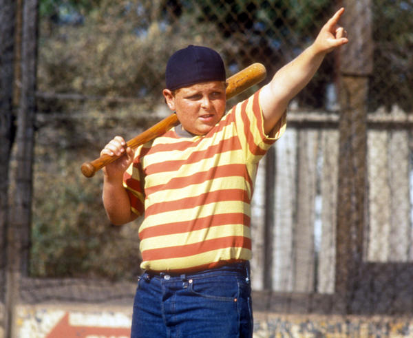 Patrick Renna as Hamilton 'Ham' Porter in 1993 sports film, <em>The Sandlot</em>.