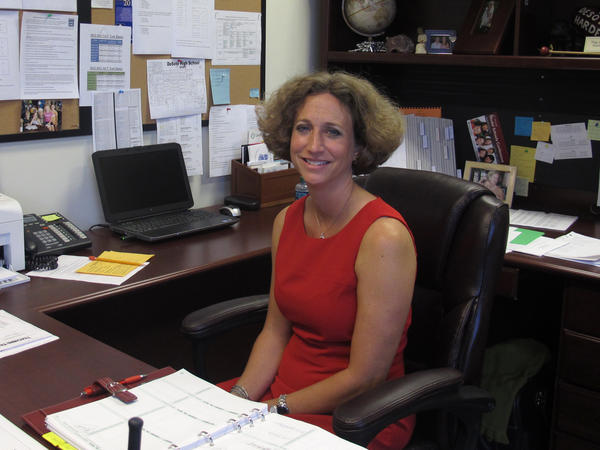 Shannon Fusco is the principal of DeSoto High School, one of the Florida schools having trouble replacing teachers who left over summer vacation.
