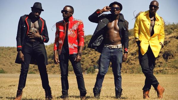 Sauti Sol has become the most popular band in Kenya.
