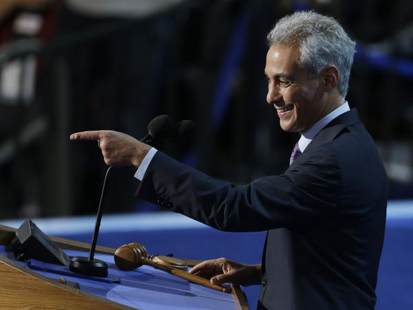 Chicago Mayor Rahm Emanuel wants you ... if you're a wealthy Democrat who can write a $10 million or $20 million check.