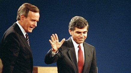 In a 1988 debate against George H.W. Bush, Michael Dukakis's answer to a question about whether he would support the death penalty if his wife were raped and murdered is considered a huge stumble.