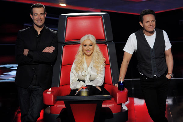 Last year, Aguilera was among the first set of judges on NBC's singing competition <em>The Voice.</em>