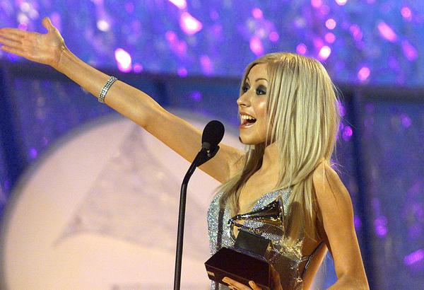 In 2000, Christina Aguilera won an Best New Artist Grammy.