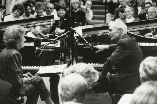 In 1997, Dave Brubeck and McPartland taped an episode of <em>Piano Jazz </em>live for an audience in Washington, D.C.