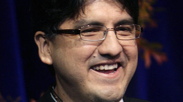 Author and Spokane Indian Sherman Alexie won the American Book Award in 1996 for <em>Reservation Blues</em>.
