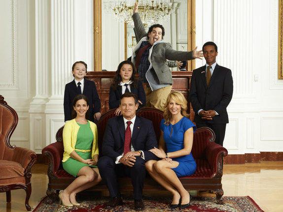 Bill Pullman plays President Dale Gilchrist in NBC's new show <em>1600 Penn</em>.