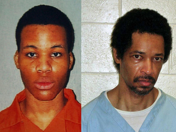 """Lee Boyd Malvo (left) and John Allen Muhammad became known as the """"D.C. Snipers."""""""