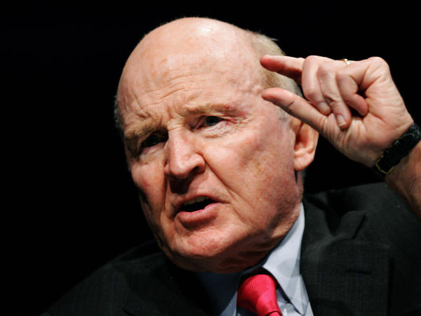 Former General Electric CEO Jack Welch.