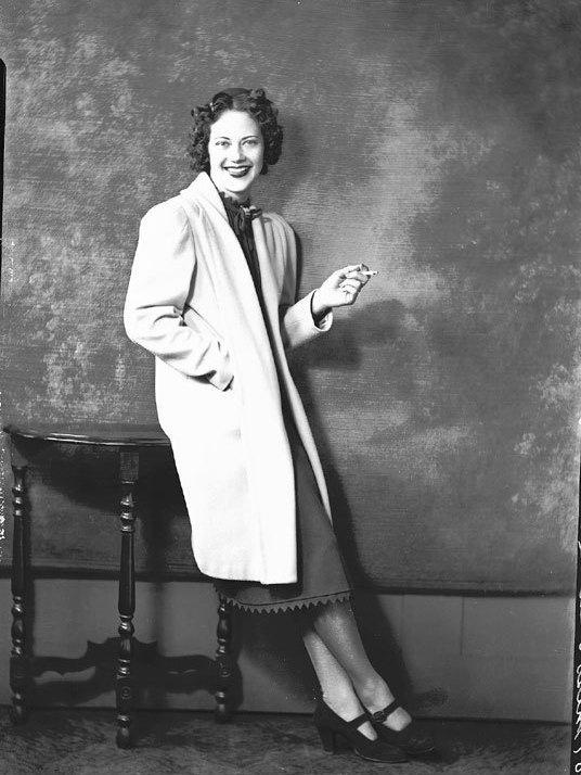 Actress Fredi Washington circa 1940s. Washington played Peola in the 1934 Academy Award-nominated <em>Imitation of Life. </em>