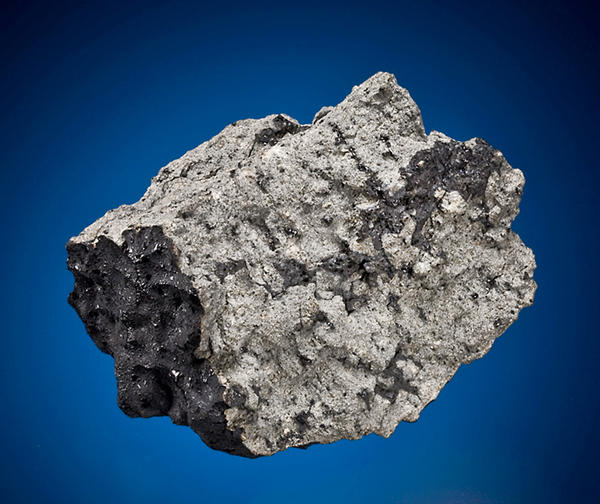 <strong>Own A Piece Of Mars:</strong> A fragment of the meteor that crashed into Tissint, Morocco, in July 2011. This piece is one of many meteorites up for auction in Manhattan on Sunday. Estimated price: $230,000-$260,000.