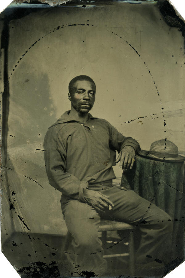 "George William Commodore was born free and raised in Baltimore. At about age 39, he joined the Navy. ""He must have taken some ribbing,"" Coddington writes in his book, ""his surname being the same as a high naval rank."""