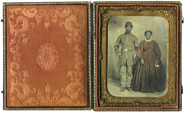 Jeremiah Saunders was born into slavery, but when his master died, he joined the Union army and was eventually promoted to corporal.