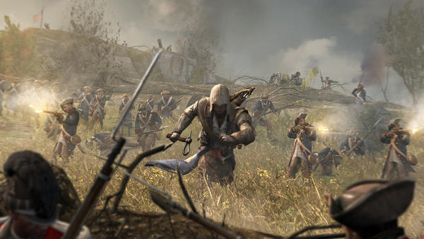 For the latest installment of Ubisoft's <em>Assassin's Creed</em> series, set in Colonial America, the hooded main character is part Mohawk. The company brought in a Mohawk consultant and hired a Native actor to play the role.