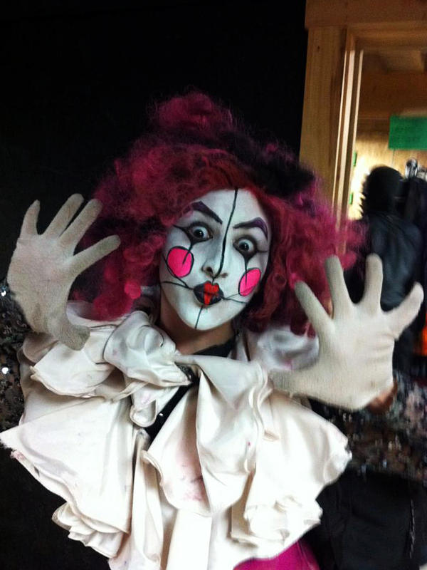 Being a monster — or creepy clown — in a haunted house can be downright strenuous with all the jumping and running. And if the scares are too real, it can get physical.
