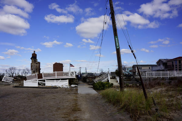 Breezy Point's residents say they will rebuild.