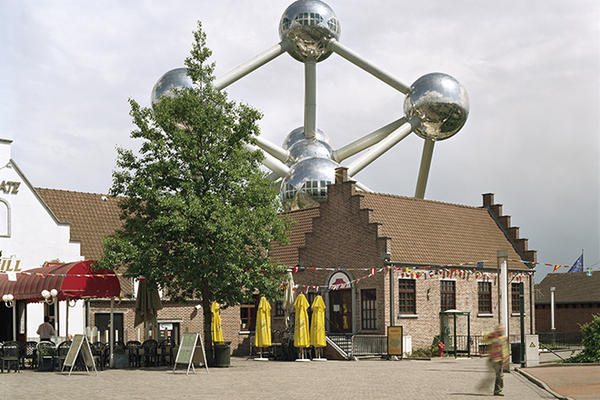 "Brussels 1958 world's fair, ""A World View: A New Humanism,"" Atomium, 2007"