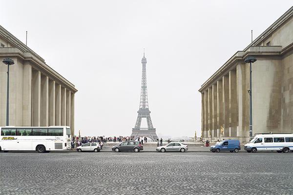 """Paris 1889/1937 world's fairs, """"Exposition Universelle""""/""""La Vie Moderne,"""" Eiffel Tower, Trocadero, and Palais de Chaillot, 2007"""