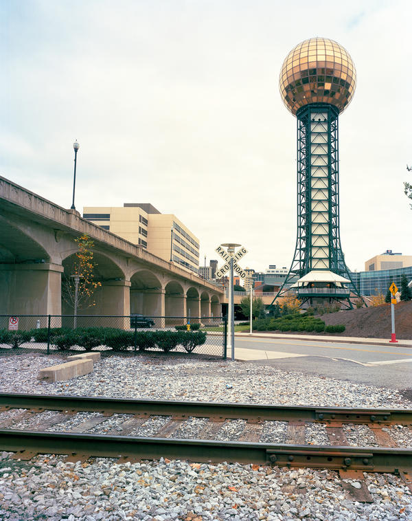 The Sunsphere in Knoxville, Tenn., was constructed for the 1982 world's fair.