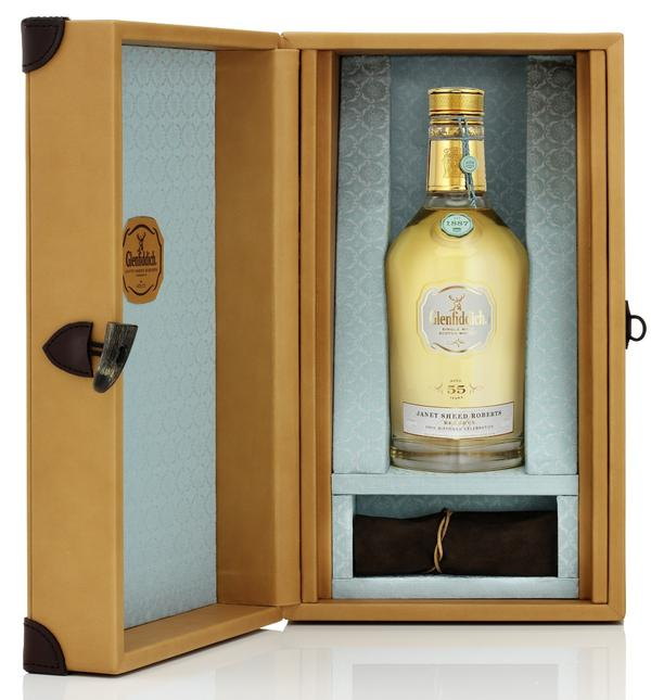 Glenfiddich's Janet Sheed Roberts Reserve. The last bottle goes up for auction on Tuesday.