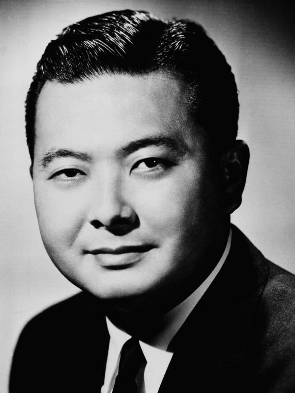 Seeking the U.S. Senate seat from Hawaii is Democrat Daniel K. Inouye, shown in this 1962 photo.