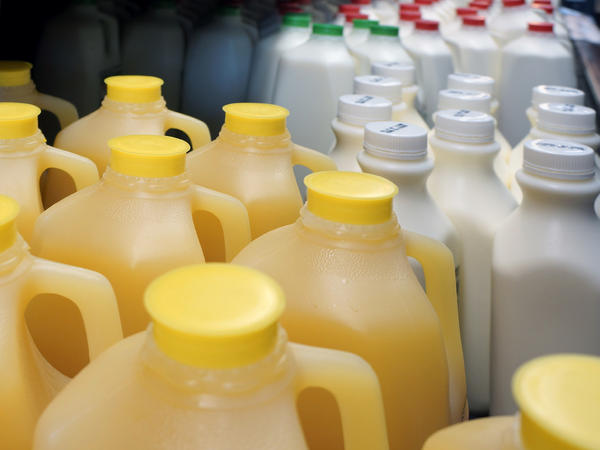 The expiration date on foods like orange juice and even milk aren't indicators of when those products will go bad.