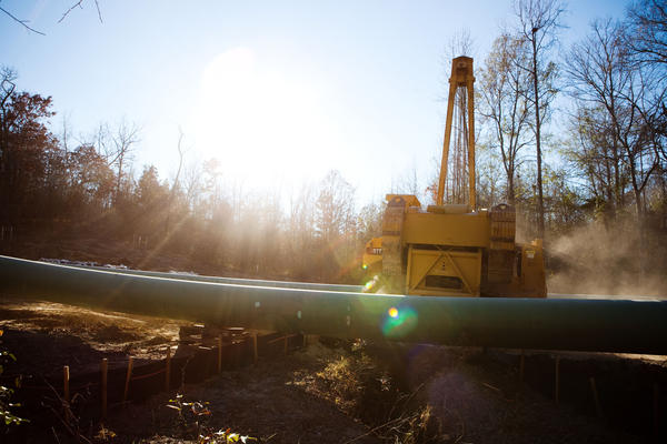 The tree-sit didn't stop the pipeline but it did cause TransCanada to move the pipeline 100 feet away from the proposed easement.