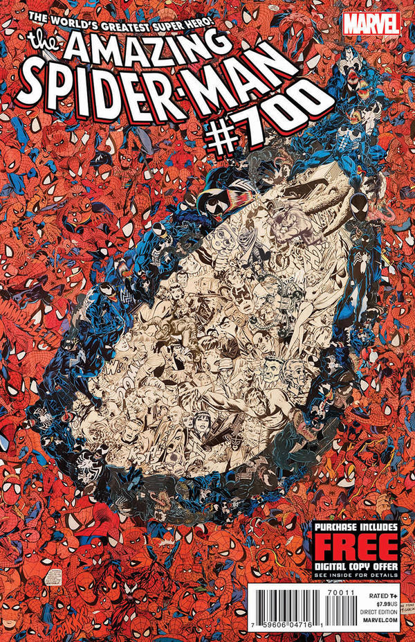 <em>The Amazing Spider-Man</em> #700 is the final issue of the series.