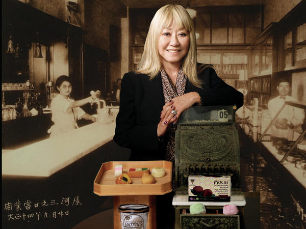 Frances Hashimoto, the inventor of mochi ice cream, was born in a World War II internment camp in Arizona.