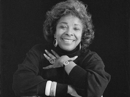 Novelist Rosa Guy moved to Harlem, N.Y., from Trinidad when she was 7 years old.