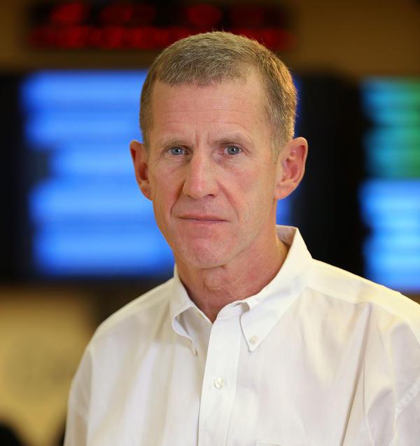 Gen. Stanley McChrystal was the commander of U.S. forces in Afghanistan until 2010. His new memoir chronicles his military career.