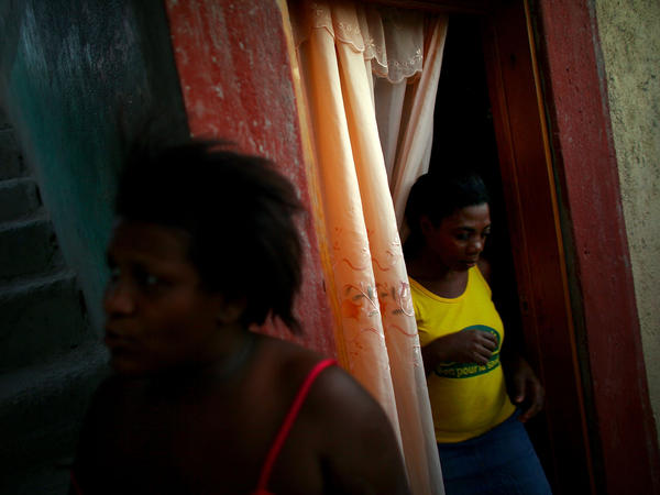 "Rose Lermonis spent months living in what she calls an ""awful"" camp in Petionville, a suburb of Port-au-Prince. A rental subsidy program helped her to move out temporarily."