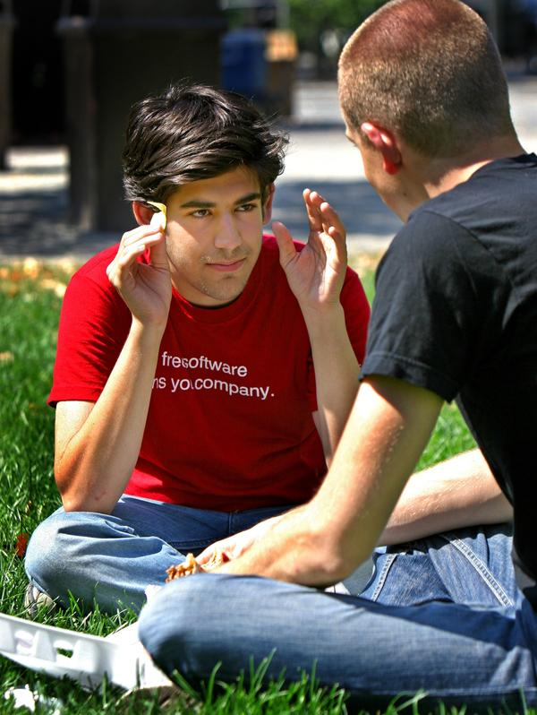Aaron Swartz co-authored RSS and founded the company that later became the social media website Reddit.