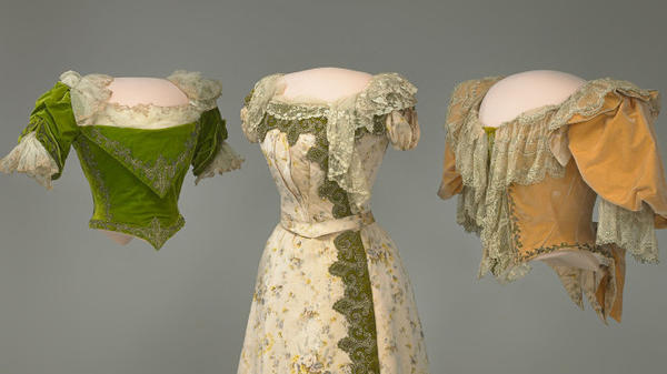The inaugural ensemble of Grover Cleveland's wife, Frances, a fashion icon during the late 1800s who was considered the Jackie Kennedy of her day.