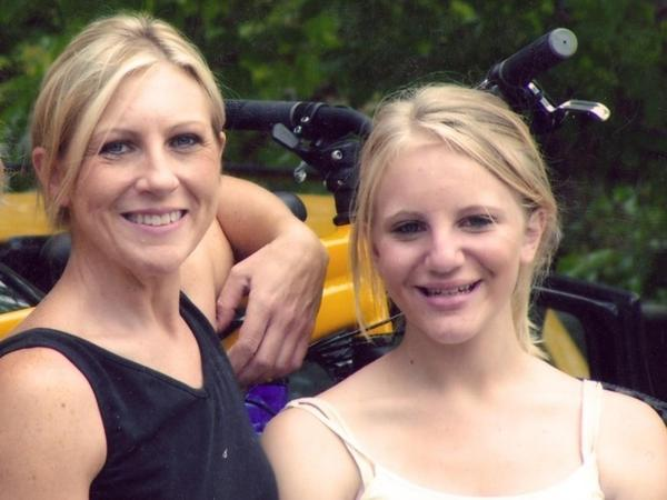 Carolyn Tuft and her daughter Kirsten (seen here in 2005) were the victims of a shooting at a Salt Lake City mall in 2007. Kirsten was one of five bystanders killed, and Carolyn was left in severe pain.