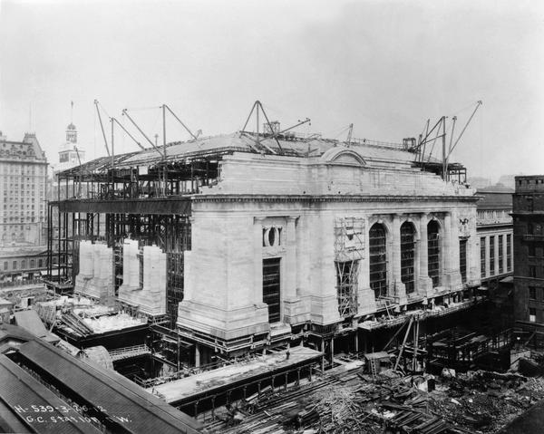Construction of the terminal took 10 years.