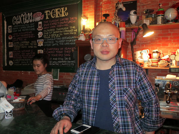 "Du Xin, the ""Chinese Gunther,"" owns Central Perk in Beijing. That's not all he has in common with Gunther on the show. ""I love Rachel,"" he sighs."