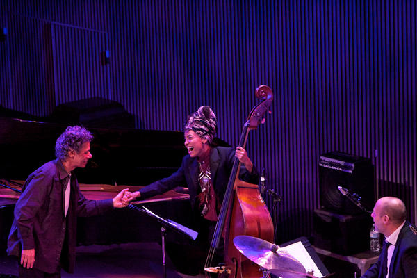 """Chick Corea paid tribute to Bill Evans with his version of """"Alice In Wonderland,"""" with Esperanza Spalding on bass and Jeff Ballard on drums."""