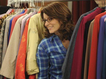 Tina Fey as Liz Lemon on NBC's <em>30 Rock</em>.