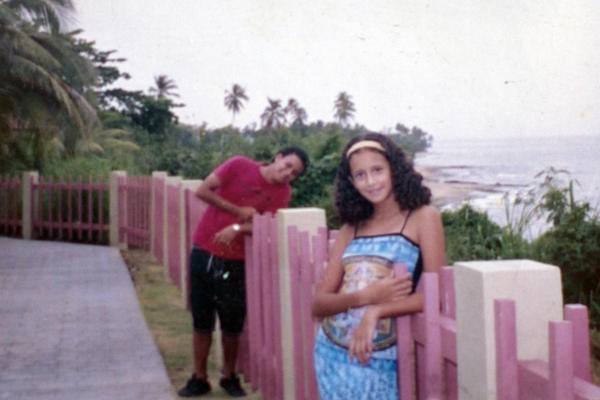 Bonet and his sister, Didra, are shown here in Puerto Rico in this undated family photo.