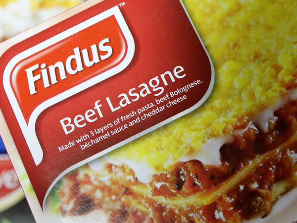 Frozen-food company Findus recalled its beef lasagne meals earlier this week because they contain horsemeat.