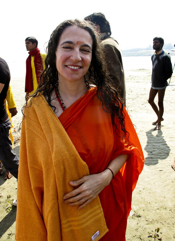 Sadhvi Bhagawati Saraswati, a Hindu nun, edited the <em>Encyclopedia of Hinduism</em>.