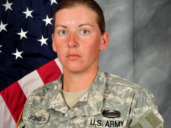Donna Johnson was killed on Oct. 1, 2012, while on patrol in Khost, Afghanistan. She was 29.