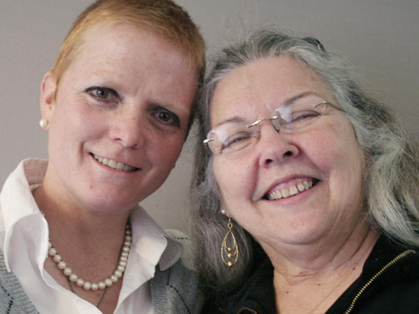 Tracy Johnson and her mother-in-law, Sandra Johnson.