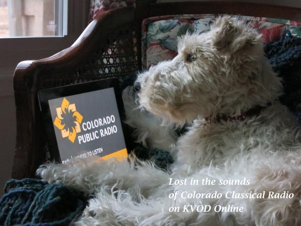 Jake is a fan of Colorado Classical Radio on KVOD.